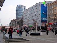 Брандмауэр №94317 в городе Днепр (Днепропетровская область), размещение наружной рекламы, IDMedia-аренда по самым низким ценам!