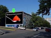 Брандмауэр №94323 в городе Днепр (Днепропетровская область), размещение наружной рекламы, IDMedia-аренда по самым низким ценам!