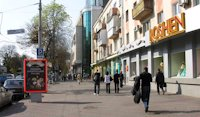 Ситилайт №96512 в городе Винница (Винницкая область), размещение наружной рекламы, IDMedia-аренда по самым низким ценам!