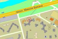 Брандмауэр №98765 в городе Киев (Киевская область), размещение наружной рекламы, IDMedia-аренда по самым низким ценам!